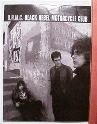 B.R.M.C. Black Rebel Motorcycle Club Poster Promo