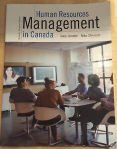 Human Resources Management in Canada, 13th Canadian edition Dess