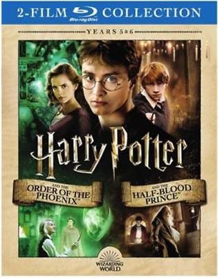 Harry Potter and the Order of Phoenix/The Half Blood Prince Blu-ray 2-Disc