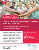 Seeking Volunteers 55+