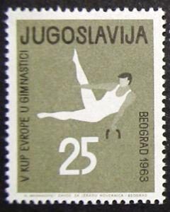 JUGOSLAVIA-1963-GINNASTA-NUOVO-COME-DA-FOTO
