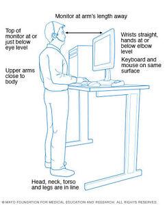 Adjustable Height Table Ebay
