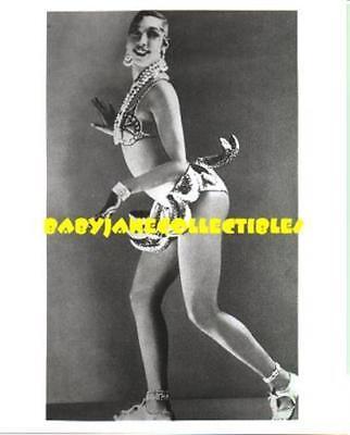JOSEPHINE BAKER photo #4 IN FAMOUS BANANA G-STRING (bw-N) Josephine Baker Famous