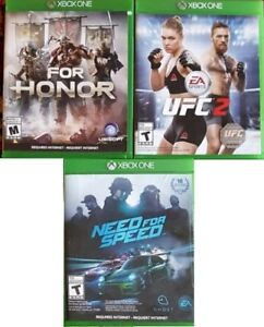 XBOX One Fighting and Racing Games (Various Prices)