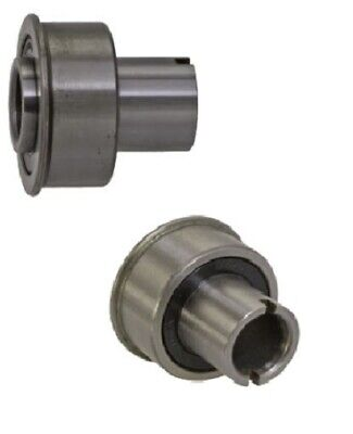 Set Of 2 Annular Flanged Ball Bearings 12 Id X 1-316 Od Precision Sealed