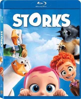 Storks (Blu-ray Disc, 2016) NEW