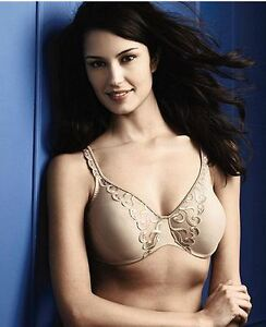 NWT-Lilyette-Full-Figure-Embroidered-Underwire-MINIMIZER-Bra-0427-W617