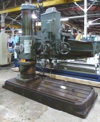 Cincinnati Bickford 6 X 17 Radial Arm Drill B36681