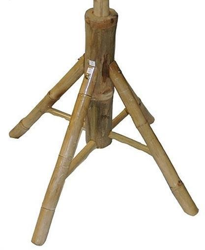 Bamboo54 5460 Garden Umbrella Stand - Natural Bamboo