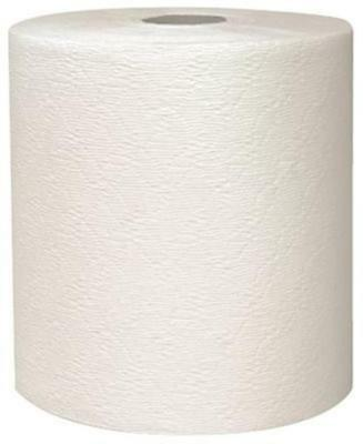 Kleenex White Hard Roll - Kimberly Clark Kleenex Hard Roll Towels White 1-Ply 8in.x600ft. 6 Rolls Per Case