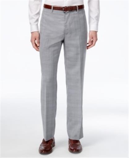 INC International Concepts Men/'s Slim-Fit Ottoman Floral Flat Front Pants $59