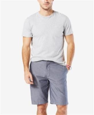 Dockers Stretch Classic Fit Perfect Short D3 Chambray Blue Mens 32