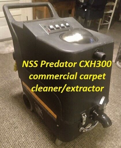 NSS Predator CXH300 commercial carpet cleaner/extractor