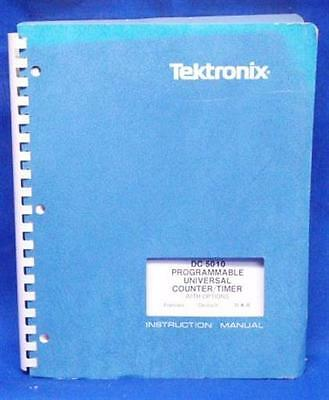 Tektronix Dc 5010 Countertimer Service Manual