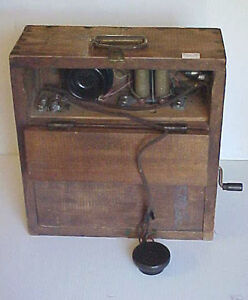 PRIMITIVE Field TELEPHONE Northern Electric Pat 1931