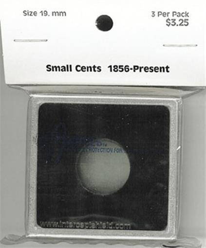 Intercept Shield 2X2 Coin Snaplock Holders 29mm Square Capsule For US Large Cent