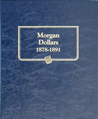 Morgan Silver Dollars Coin Album 1878-1891 Whitman 9128 Set Collection Holder