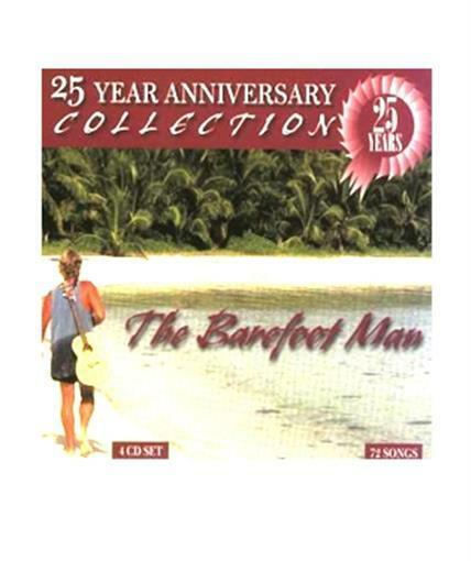 The Barefoot Man 25th Anniversary 4 CD Set Musical Entertainment Songs Singing