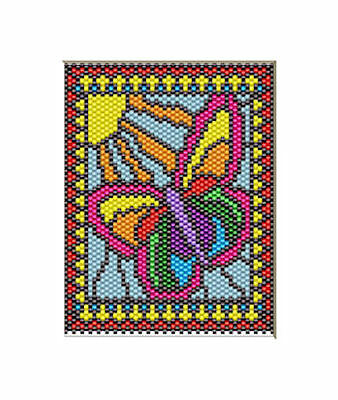 SPRING BRINGS NEW LIFE~BEADED BANNER PATTERN ONLY