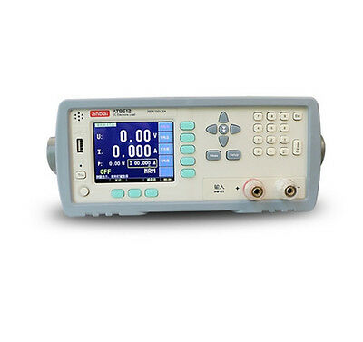 At8612 Programmable Dc Electronic Load 300w 150v 30a 3.5 Tft Lcd