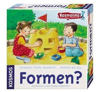 KOSMOS Kosmolino 696054 Dreieck Kreis Quadrat .. kennst du die Formen? Neu / Ovp ()