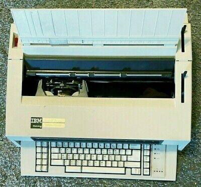 Vintage 1986 Ibm Wheelwriter 6 Electronic Typewriter Type 674x Testedworks
