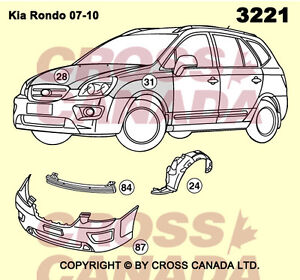 Rondo Brand New Replacement Body Panels @ Brown's Auto Supply