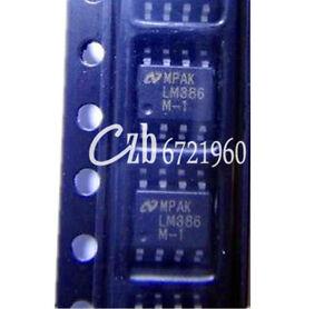 50PCS-LM386-LM386M-1-SOP-8-Audio-Power-AMPLIFIER-IC