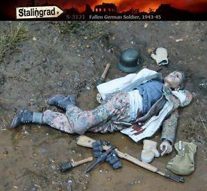 1/35 Scale resin kit WW2 Fallen German Soldier