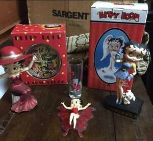SIX BETTY BOOP ITEMS