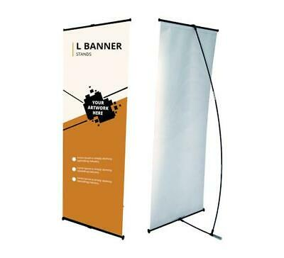 L Banner Stand 2 X 5.33 Trade Show Exhibition Advertising Display Stand