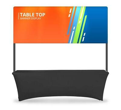 Table Top Banner - Half Display System Table Header Banner Kit