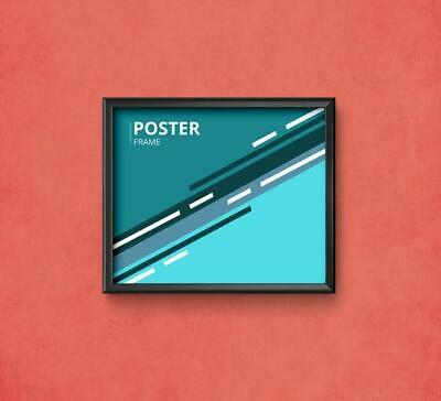 1.5 X 2 Poster Frame Aluminium Profile Wall Picture Photo Display Frame