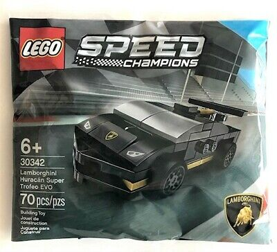 LEGO SPEED CHAMPIONS LAMBORGHINI HURACAN SUPER TROFEO EVO #30342 FACTORY SEALED