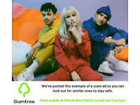 Paramore Tickets -- Read the ad description before replying!!