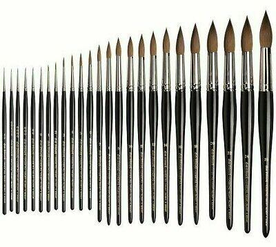 Maestro Series 10 Kolinsky Sable - Da Vinci Maestro Kolinsky Sable Series 10 Rounds. Artists Watercolour Brush.