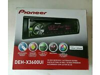 Pioneer Car Stereo CD/MP3 USB AUX iPhone Android Control EXCELLENT CONDITION