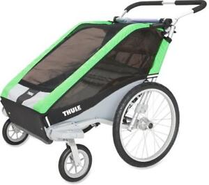 Thule Chariot Cheetah 2 - Two child carrier cycle/stroll