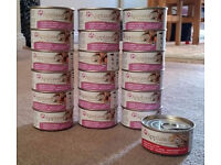 Applaws Adults natural cat food, 18 x mackerel with sardines, 1 x chicken with duck