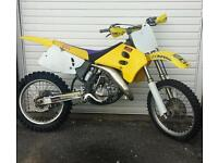 suzuki rm 125 motorcross bike crosser kx yz ktm cr 85 250