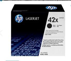 HP Print cartridge 42X