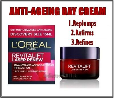 Best Price L'OREAL REVITALIFT LASER RENEW Day Cream Advanced Anti-Ageing