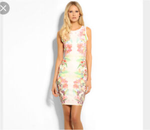 Floral guess dress