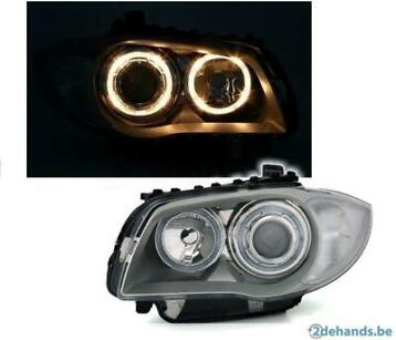 BMW E81 E82 E87 E88 Look Angel Eyes Koplampen