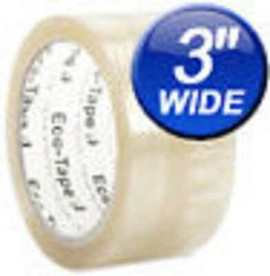 24 Rolls Eco-Tape, Clear, 3