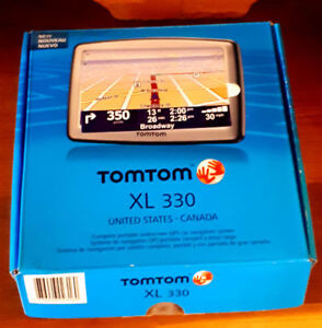 Like New Tomtom XL330 US/Canada in Box