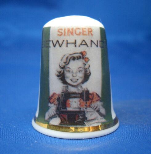 China Thimble - Singer Sewhandy Sewing Machine Poster - Free Gift Box
