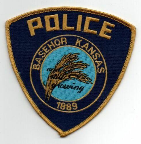 KANSAS KS BASEHOR POLICE NICE PATCH SHERIFF