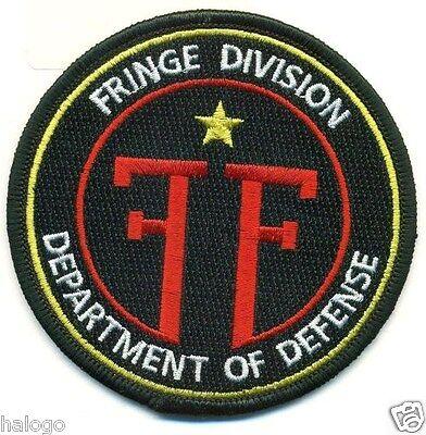 FRINGE DIVISION TV SHOW UNIFORM PATCH - FRNG1