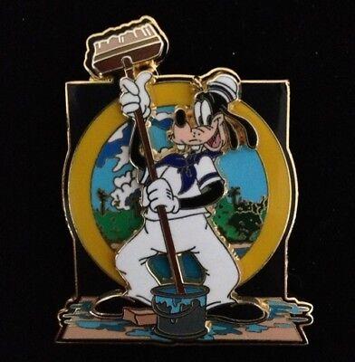 Goofy Sailor (DISNEY PIN - GOOFY as Sailor Sprucing up the Ship Wonder Cruise DCL 2002 - New)